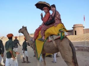 India Camel ride